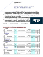 Oferta Mobilitati Erasmus 2014