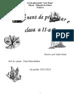 Planificare Buna Clasa a Iia b 20122013