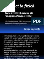 Efectele Biologice Ale Radiatiilor Radioprotectia.\