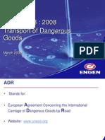 Transport of Dangerous Goods