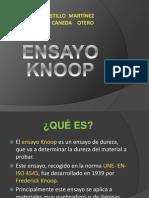 Ensayo Knoop