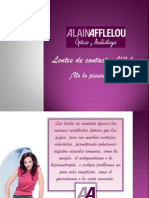 Alain Afflelou Lentes Contacto Tipos