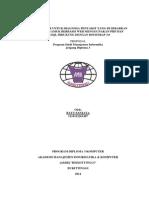 Proposal Sistem Pakar