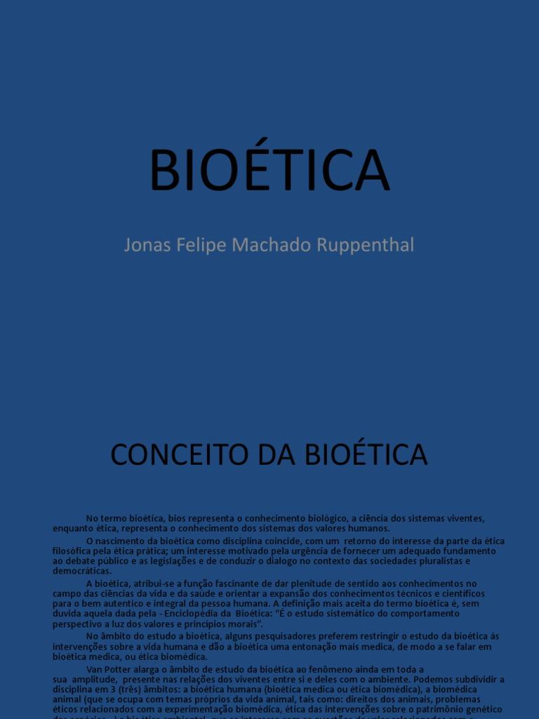 biotica nas profisses