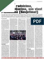 """Zlatko Hasanbegović - Jedan pogled iz Zagreba:""""Tvornice radnicima, zemlja seljacima, sva vlast Plenumima (Sovjetima)!"""""""