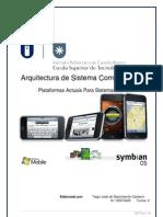 ASC-Plataformas actuais de Sistemas Móveis