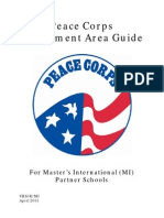 Peace Corps Assignment Area Guide - Volunteer Recruitment and Selection Office - PCAA