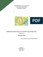 203094944 Romania in Secolul XX Partea a II A