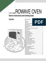 Cuptor Microunde Manual