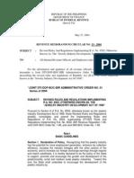 33-2004 jewelry industry development act
