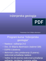 Inženjerska geologija_predavanje I