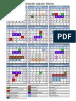 Calendário 2014 - Infantil