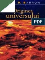 John Barrow-Originea Universului-Humanitas (2007)