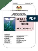 Perfect Score Dan Xa Plus Bio 2013
