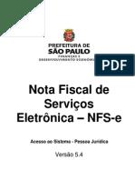 Manual NFe PJ