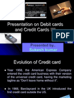 39785045 Growing Prominance of Credit and Debit Cards