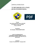 Proposal Penelitian Group Sirosis