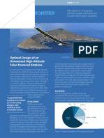 Optimal Design of an Unmanned High-Altitude Solar-Powered Airplane