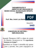1 FORMAÇÃO CONTINUADA EDUCACAO INFANTIL 2012