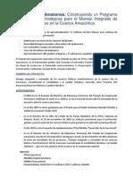 Conoce el proyecto GEF Amazonas