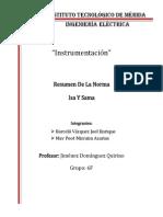Resumen Norma ISA y La Norma SAMA