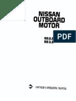 Nissan 3.5hp Service Manual