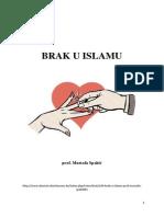 Brak u Islamu - prof. Mustafa Spahić