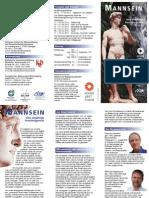 Flyer Mannsein 2014 15 Screen