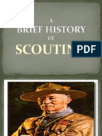 Brief History of Scouting