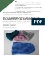 WEBSITE Hat Patterns