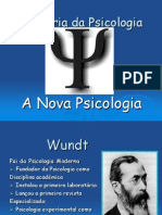 Aula 5 - A Nova Psicologia
