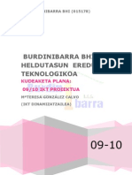 Burdinibarra 09-10 IKT PROIEKTUA