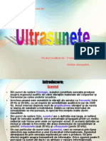 Ultrasunete Proiect Final