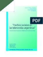 Hechos Sociales en Las Telenovelas Argentinas