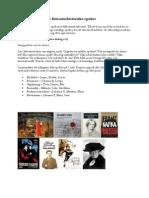 Fördjupningsarbete litteraturhistoria