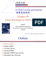 [09] Chapter09_Advanced Techniques in CMOS Logic Circuits