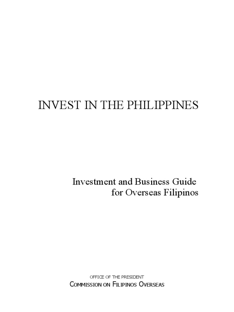 Invest In The Philippines United States Treasury Security