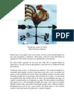 Hans Christian Andersen El Gallo de Corral y La Veleta