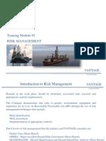 Training Module 01 - Risk Management