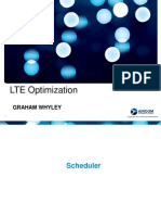 LTE optimisation
