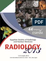 Radiology 2013 Program