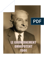 Mises -Le Gouvernement Omnipotent