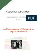 Cultural Env.models