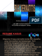 Paederus Dermatitis