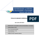 CA - Ficha UC Est 2013-14