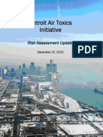 Detroit Air Toxic Initiative - Risk Assessment 2010