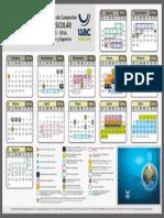 Calendario Escolar 2013-2014 UAC