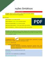 Funções Sintáticas- lista (1)