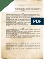 Salud Decretos Hipervinculados Desde 1990 Al 2009