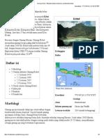 Gunung Kelud - Wikipedia Bahasa Indonesia, Ensiklopedia Bebas